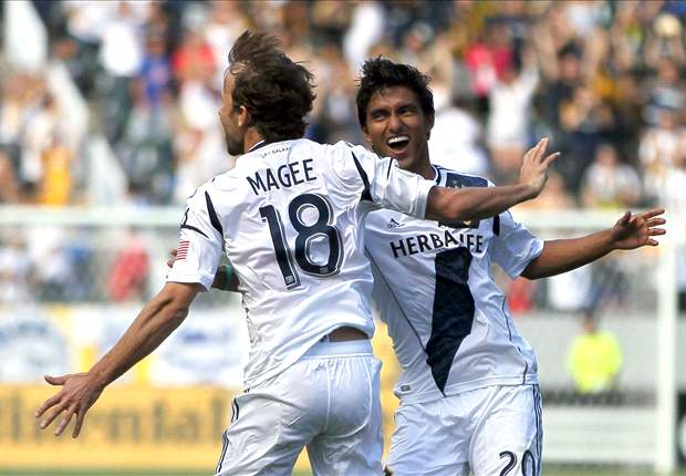 LA Galaxy 1-0 Colorado Rapids: Mike Magee penalty takes him top of MLS in scoring