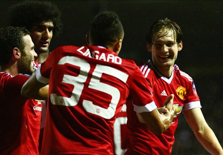 RATINGS: Derby 1-3 Man Utd