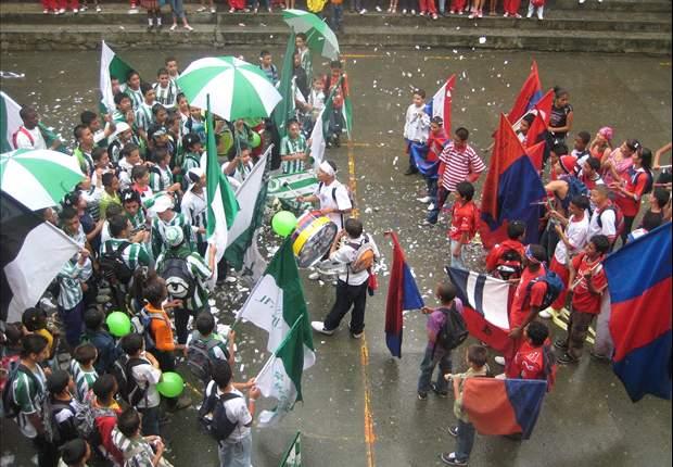 Medellín innovadora, la ciudad donde los barristas aún no entienden el fútbol