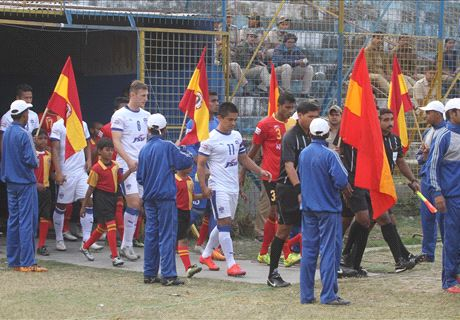 Champions tamed by Red and Golds