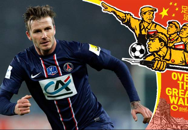 Can 'Brand Beckham' sell Chinese football?