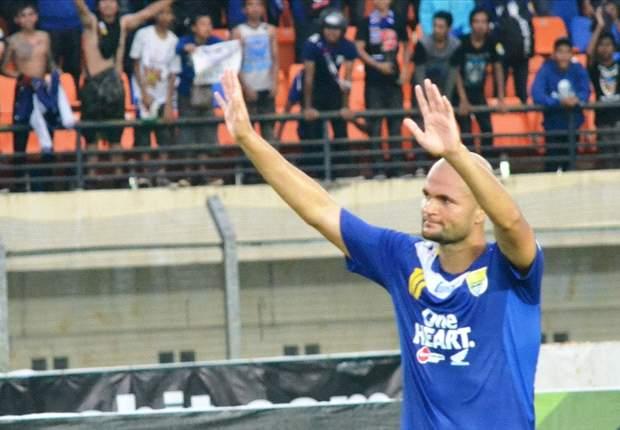 Sergio Van Dijk: Rekor Gol? Saya Ingin Persib Juara