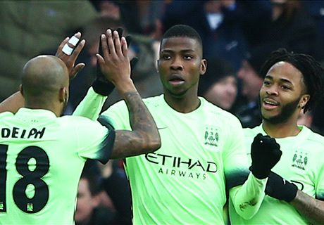 Iheanacho's City draw Messi's Barcelona