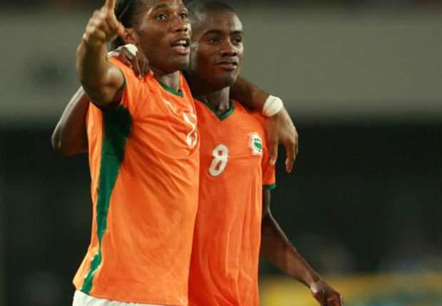 Yaya Touré y Didier Drogba encabezan la prelista de Costa de Marfil