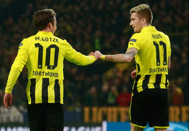 Reus: It's great fun to play alongside Gotze