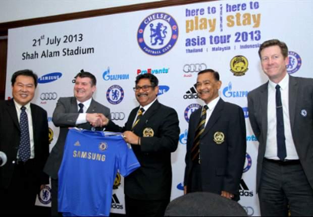 Chelsea will be in Kuala Lumpur for pre-season tour