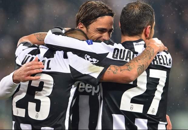 Juventus 2-0 Celtic: Matri y Quagliarella sellan el pase a cuartos