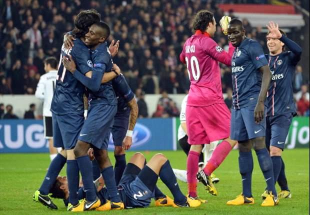 Imbang, Paris Saint-Germain Tetap Melaju
