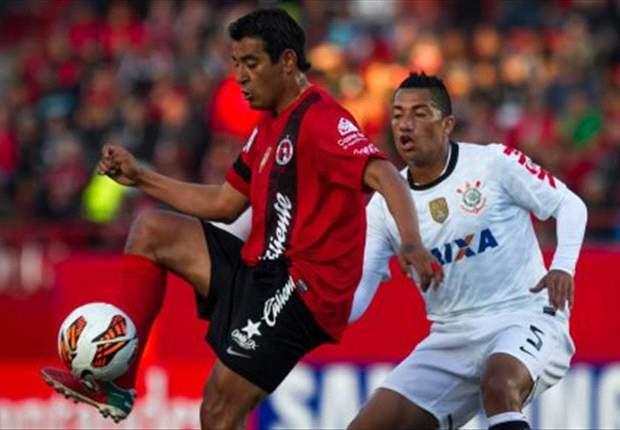 Corinthians también fue víctima del Tijuana