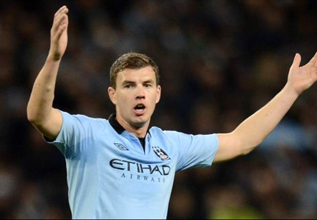 Edin Dzeko claims Manchester derby is important despite 15-point gap