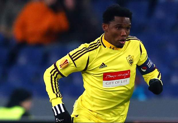 Eto'o set to make 100th European appearance