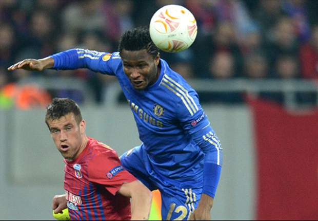 Mikel 'looking forward' to Chelsea clash with Manchester City