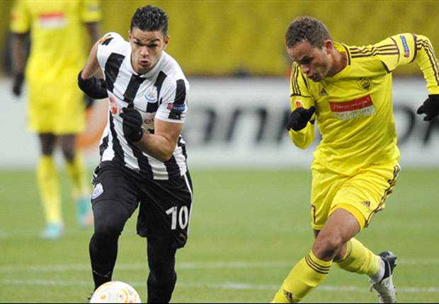 Ben Arfa ruled out of Newcastle's clash with Anzhi