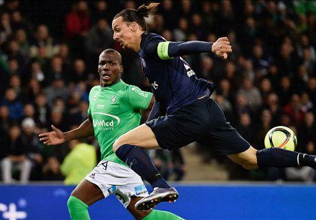 REPORT: Saint-Etienne 0-2 PSG