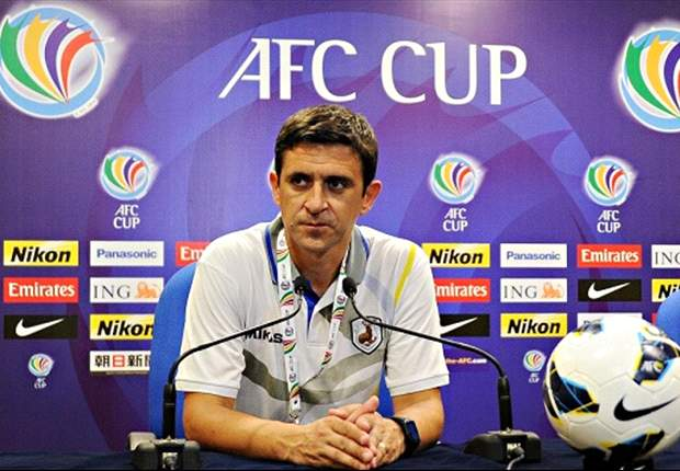 Bacina at the post-match press conference (picture: FAS)