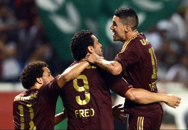 Fluminense 2 x 0 Emelec: Tricolor não joga bem, mas vence com gol de Fred