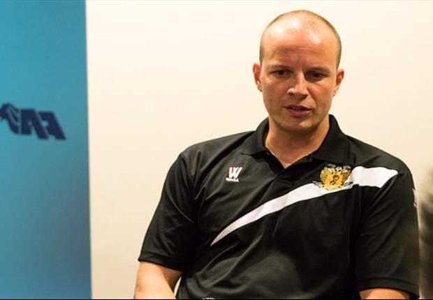 Hougang United coach Alex Weaver