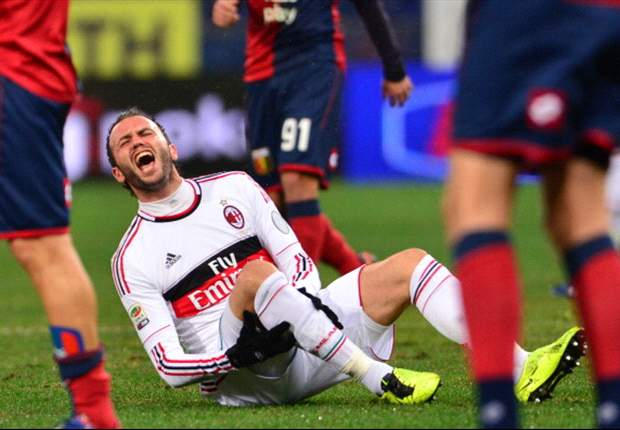 AC Mailand: Giampaolo Pazzini verpasst Spiel gegen FC Barcelona