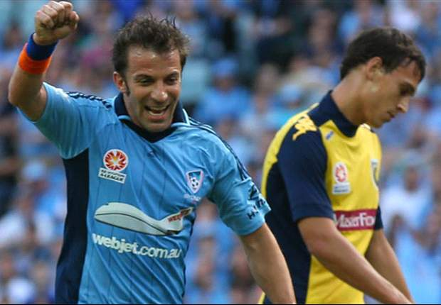 Del Piero: I made the right choice going to Sydney
