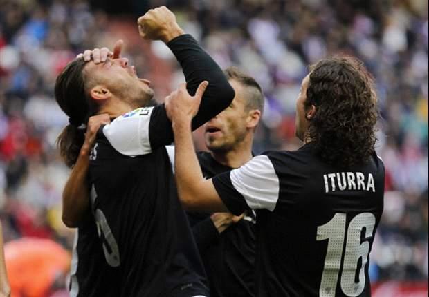 Demichelis y un gol valioso para el empate ante Valladolid