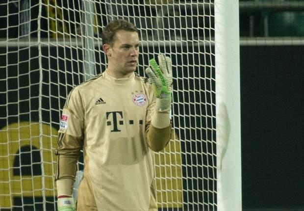 Neuer: Dortmund equal to Bayern