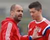 Pep Guardiola mit Sonderlob für Robert Lewandowski