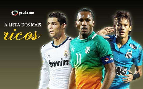 Goal.com - Os 50 mais ricos 2013