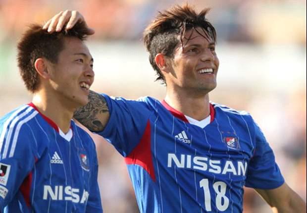 REVIEW J-League: Yokohama F Marinos Pesta Gol, Vegalta Sendai Tumbang