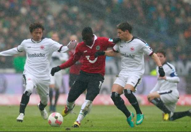 Eintracht Frankfurt holt Punkt in Hannover