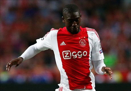 Sanogo's Ajax loan spell in one number