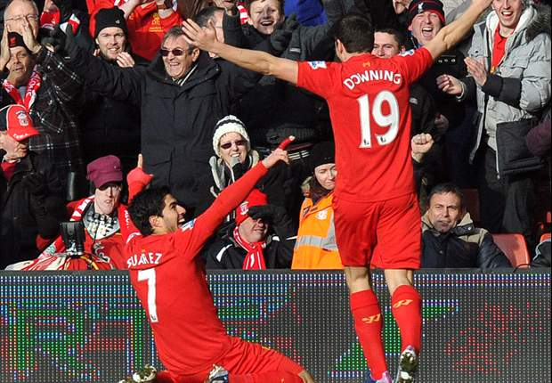 Liverpool 3-2 Tottenham: Gerrard spot on to complete Reds turnaround