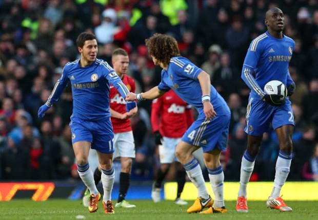 Laporan Pertandingan: Manchester United 2-2 Chelsea