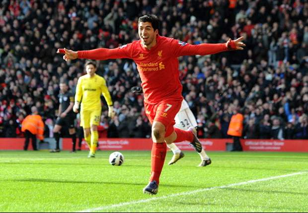 Gerrard: Suarez must win Player of the Year award
