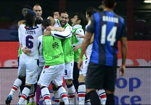 Bologna kämpft und siegt 1:0 gegen Inter Mailand