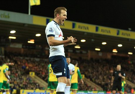 Ratings: Norwich 0-3 Tottenham