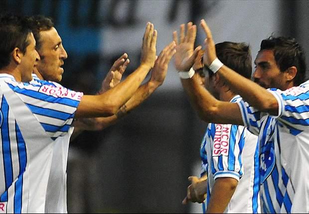 Atlético se llevó una victoria inmerecida ante un San Martín que desperdició muchas chances.