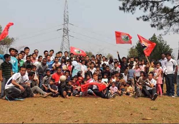 Shillong Lajong's Goodwill Visit To SOS Villlage (Photos: SLFC)