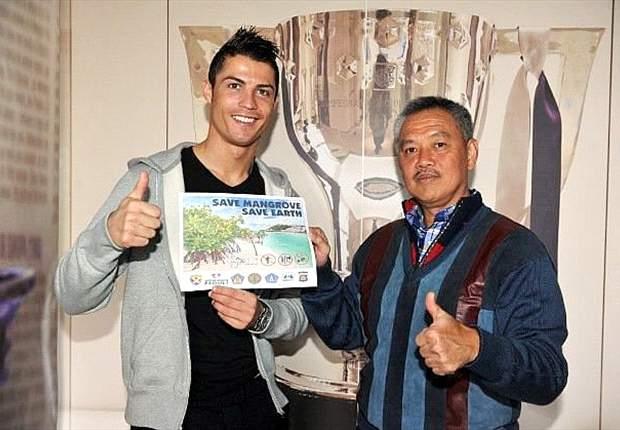 Cristiano Ronaldo unterstützt Umweltprojekt in Indonesien