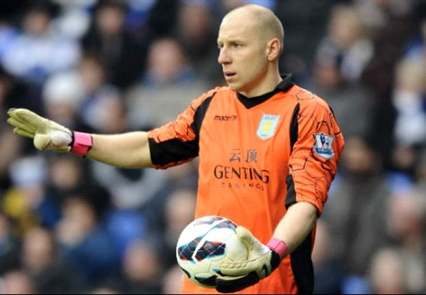 Guzan prepared to make '200 more saves' to keep Aston Villa up
