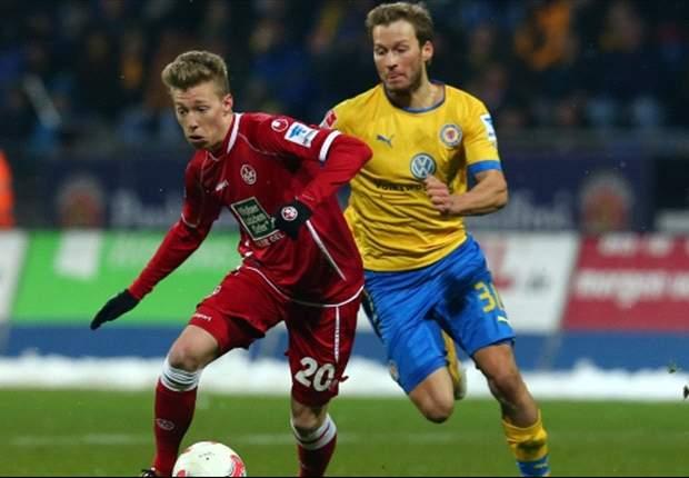 Domi Kumbela rettet Eintracht Braunschweig Remis im Spitzenspiel