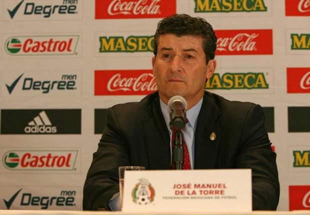 Para José Manuel de la Torre, el empate ante Honduras no sirve