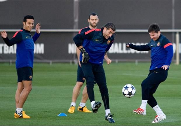 El portero es muy cercano a Leo Messi