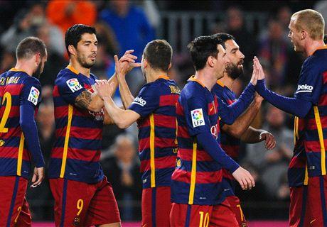 FT: Barcelona 7-0 Valencia