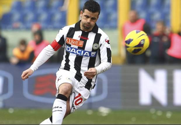 Udinese ontneemt Lazio zicht op CL