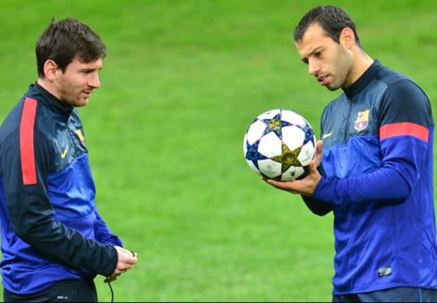 Mascherano está muy a gusto en Barcelona pero quiere retirarse en River.