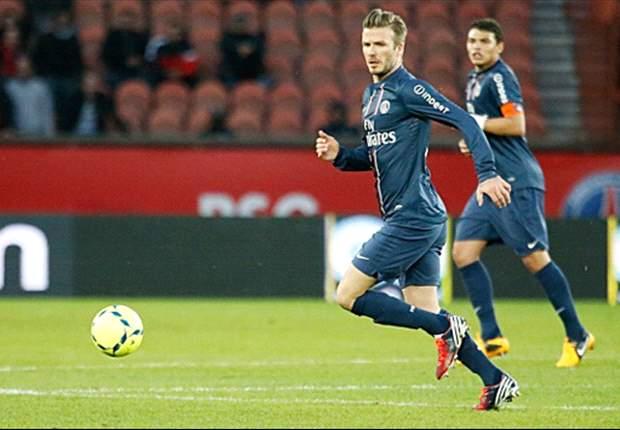 Ligue 1, PSG - Beckham a de beaux restes