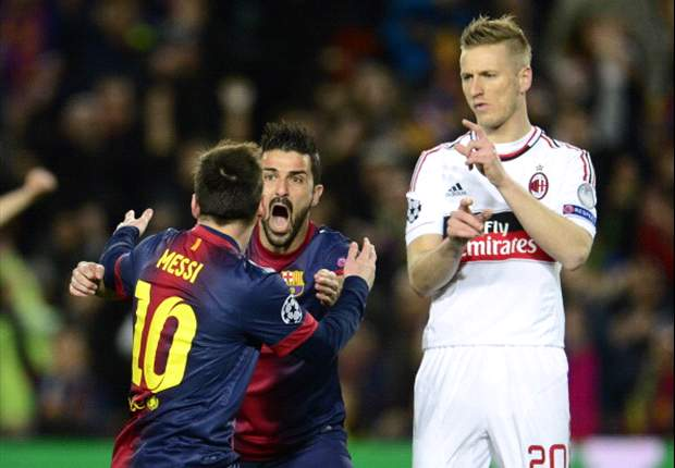 Abate: Milan missed a rare chance to knock out Barcelona
