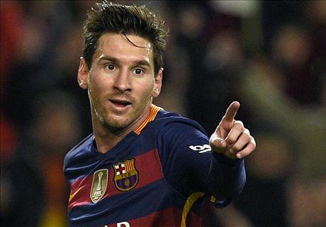 Les 34 triplés de Messi avec le Barça !