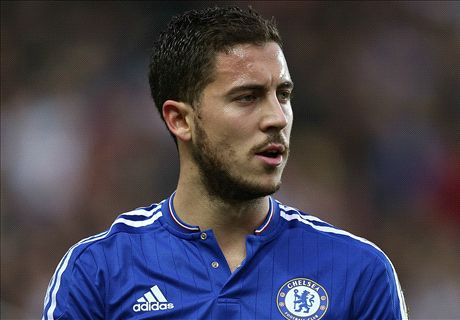 TEAM NEWS: Hazard on Chelsea bench