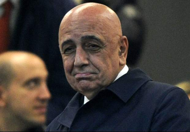 Galliani denies falling out with Berlusconi